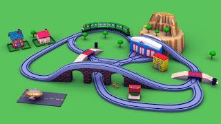 trains for children - school bus cartoon - cartoon for kids - chu chu train - trains for kids