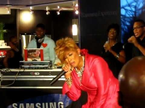 "Dorinda Clark-Cole: ""He Brought Me"" - Samsung Experience New York, NY 8/15/11"