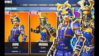 'NOUVEAU' FORTNITE PRAISE THE TOMATO EMOTE WITH SAMURAI SKINS - Other LEAKED...