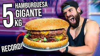 HAMBURGUESA GIGANTE DE 5KG | ESPECIAL 2 MILLONES