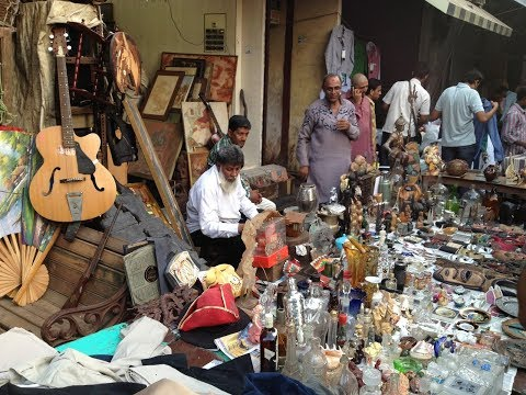 MUMBAI CHOR BAZAAR ,BEST MARKET OF ANTIQUES ITAMS…. Famous m