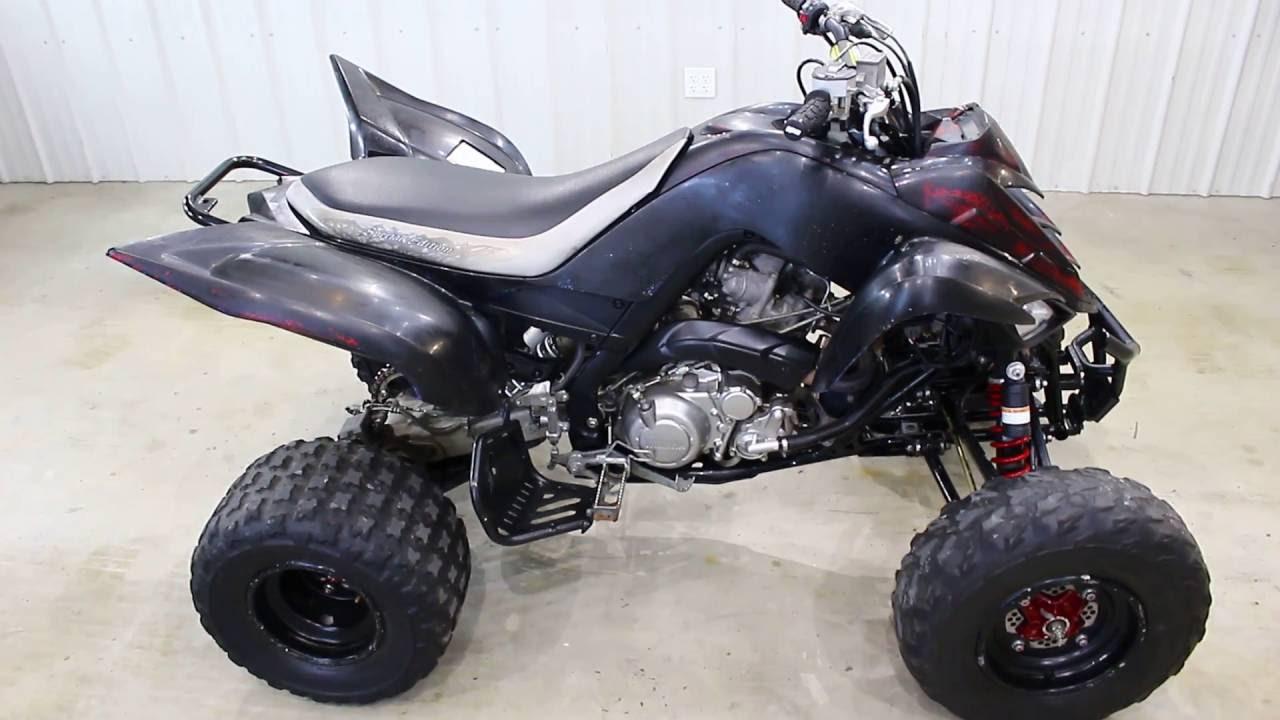 2011 Yamaha Raptor 700 Special Edition Walk Around - YouTube