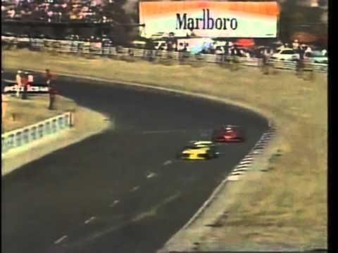 South African Formula Atlantic 1985 Kyalami Finish