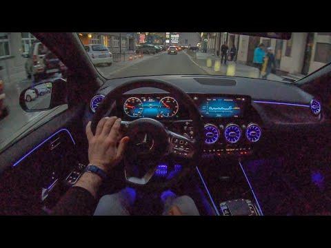 Mercedes B-Class Night   4K POV Test Drive #212 Joe Black