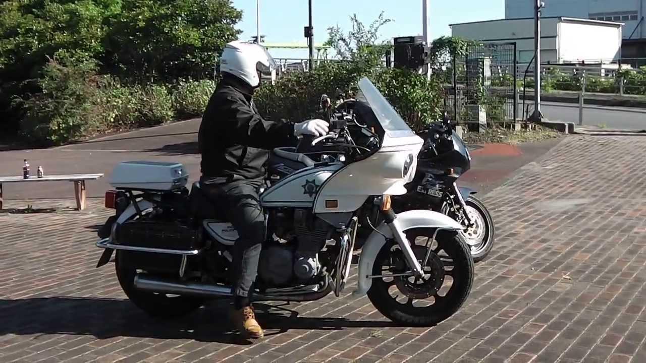 Kawasaki Police Motorcycles Image
