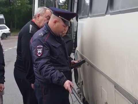 Рейд по выявлению нарушений в маршрутных автобусах