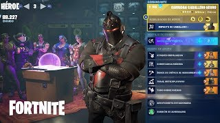 Kinetic Attack / Guardian Black Knight ? Fortnite: Saving the #415 World