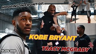 Training in Front of KOBE BRYANT & TRACY MCGRADY at Mamba Academy // Dallion King | VLOG 008