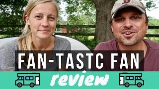 Fan-Tastic Fan Review 🚐💨 Full Time RV Living 💯 Rooftop Vent Product Review by Dometic