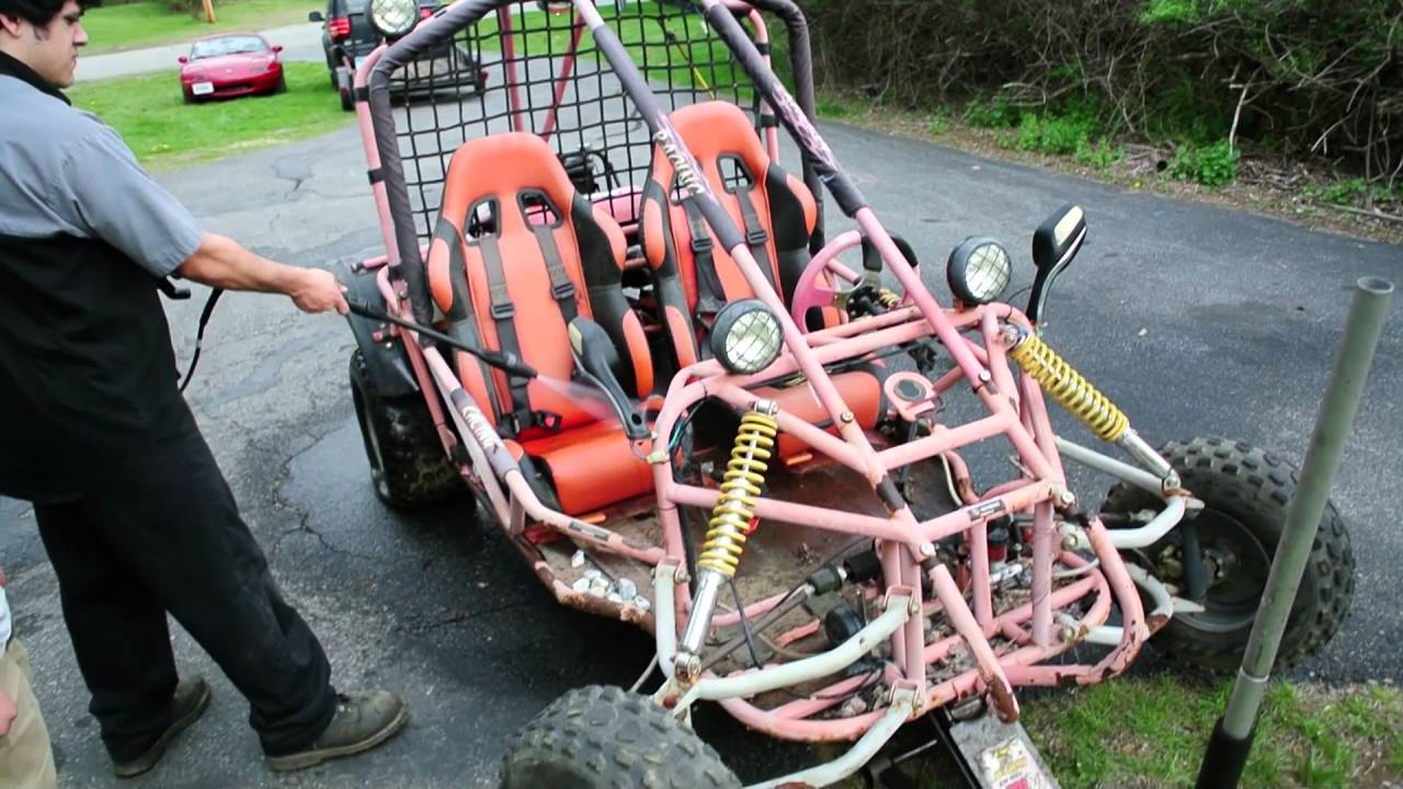 150 Gy6 Powered 250cc Roketa Go Kart Budget Build Youtube Wiring Harness