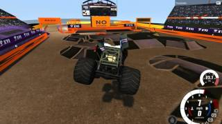 BeamNG.Drive monster jam: Eruption and Bad Bomber solo freestyles