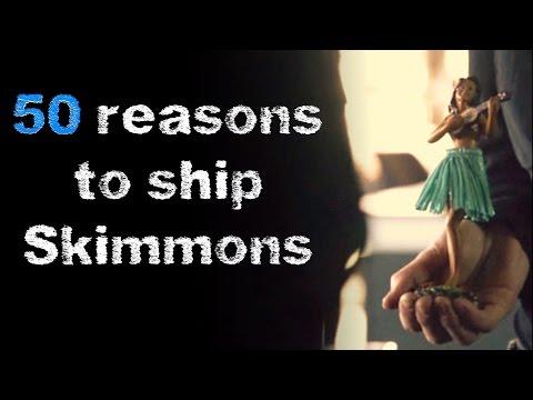 50 Reasons to ship Skye and Simmons | Skimmons