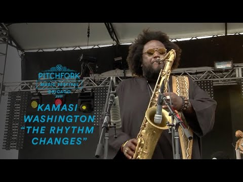 Kamasi Washington performs
