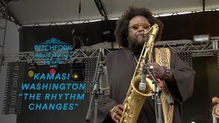 "Kamasi Washington performs ""The Rhythm Changes"" | Pitchfork Music Festival 2016"