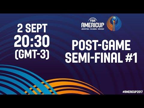 #JornadaAmeriCup - Post Semifinal #1 - FIBA AmeriCup 2017