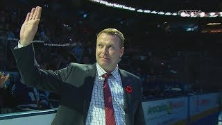 Hockey Hall of Fame Class Introduced Before Devils-Leafs Game | New Jersey Devils | MSG Networks