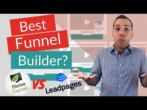 Some Known Factual Statements About Leadpages Vs Thrive