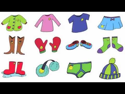 Clothing Song for Kids - YouTube