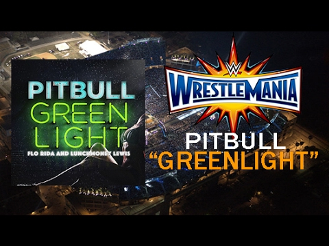 WWE Wrestlemania 33 Official Theme Song - Greenlight (Lyrics)
