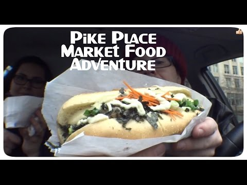 Pirillo Vlog 991 - Pike Place Market Food Adventure