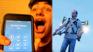 ASKING ROCKSTAR HOW TO GET JETPACK IN GTA 5!