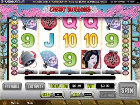 Miamiclubcasino.im - Cherry Blossoms (Slot Review)