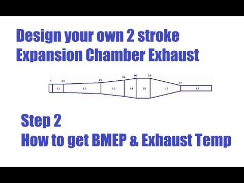 How to Design a Two Stroke Expansion Chamber Performance Exhaust