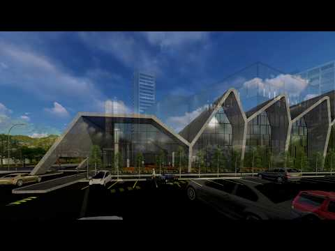 Lumion visualization - Office building & Korea Institute of Design Promotion