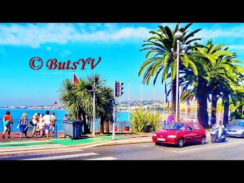 Франция. Лазурный берег - Ницца (экскурсия). France. Cote d'Azur - Nice (city tour)
