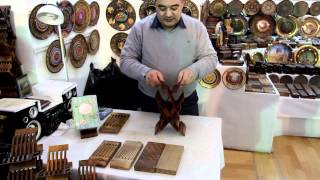 The Amazing Book Holder From Uzbekistan