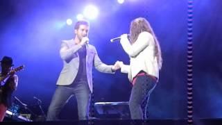 Dónde está el amor - Pablo Alborán y Jesse y Joy (Arena Monticello, Chile)