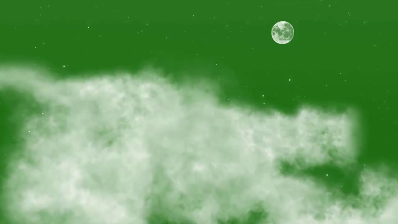 green screen cloud and moon super hit effect for editors || freelancer asad