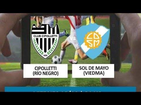 Fútbol en vivo: Cipolletti vs. Sol de Mayo