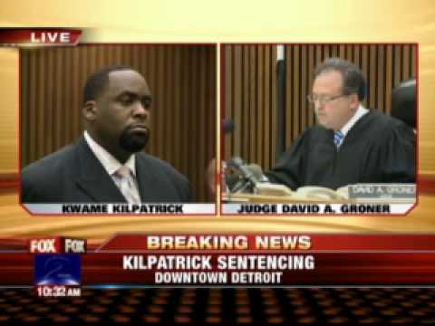 Kwame Kilpatrick Sentenced To 1 1 2 To 5 Years Youtube