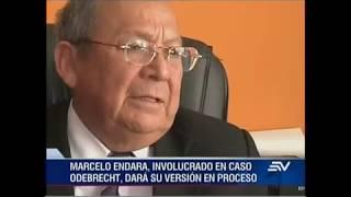 Marcelo Endara, involugrado en caso Odebrecht, dará su versión en proceso