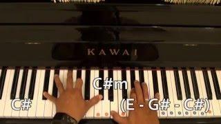 Chưa bao giờ - Trung Quân idol | Hướng dẫn | #Piano đệm hát