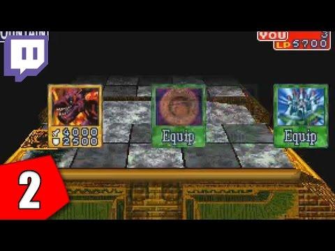 Twitch: Yu-Gi-Oh! Forbidden Memories Grinding - Part 2