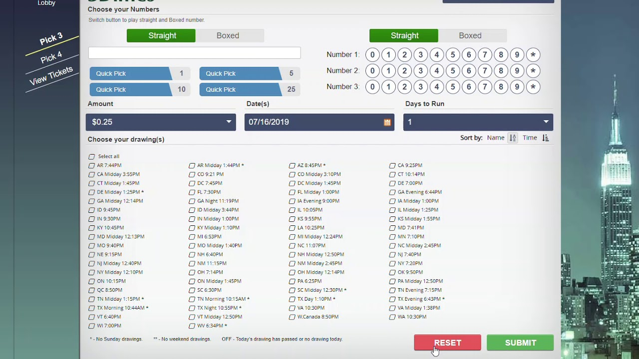 SECRET WEBSITE HOW TO GET CHEAP PICK 3 & PICK 4 TICKETS