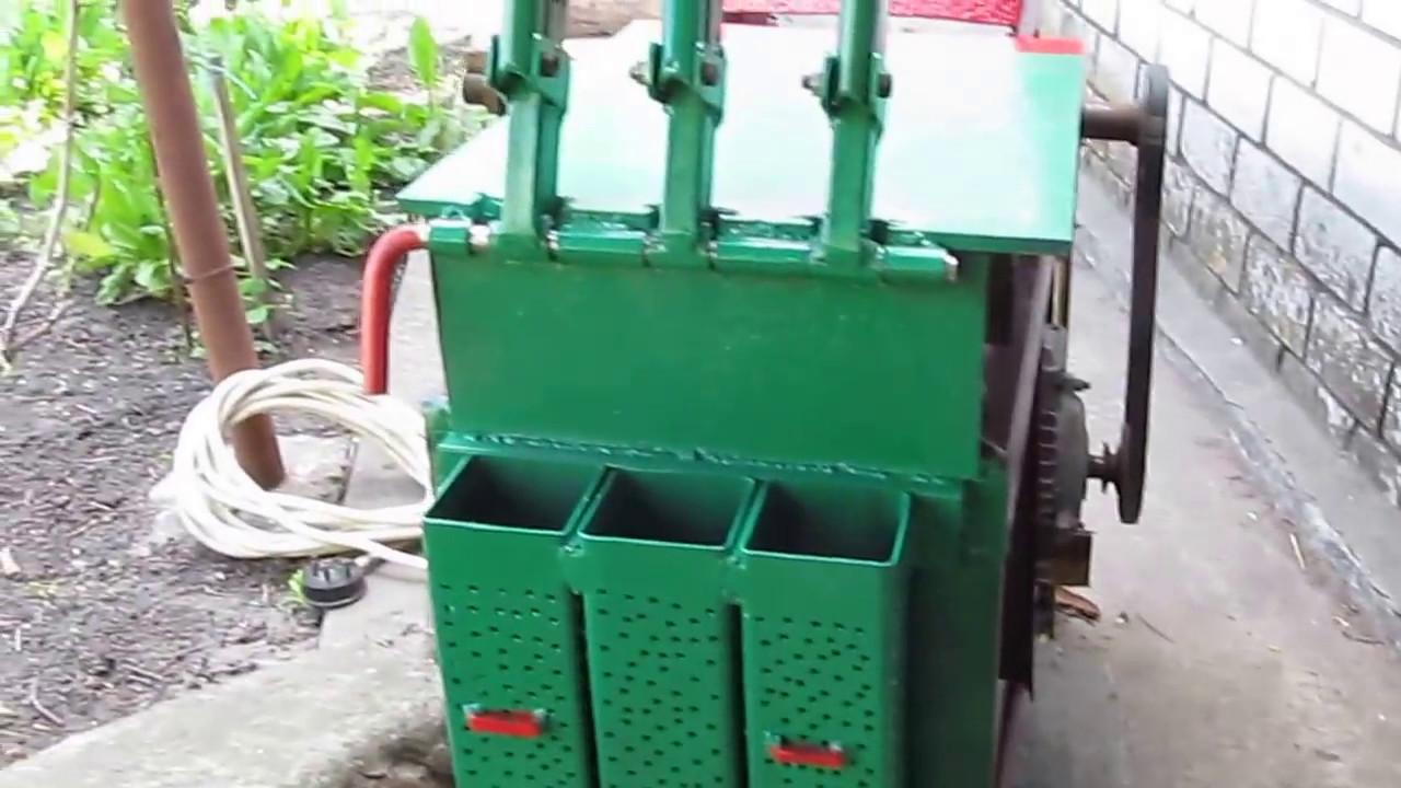 Станок для изготовление брикетов своими руками фото 145