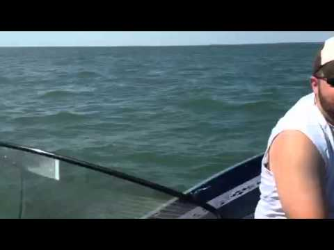 Fishing Lake Erie On A 16 Ft Boat