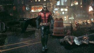 Batman Arkham Knight - Robin Brutal Combat & Free Roam