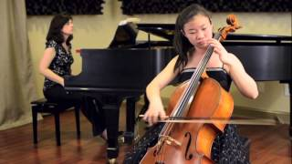 Lukas Foss Capriccio, cello played by Esther Yu