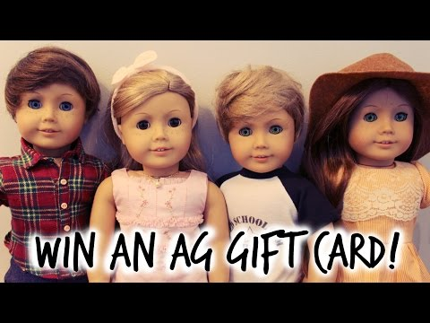 WIN A $25 AMERICAN GIRL GIFT CARD! + Gemr!