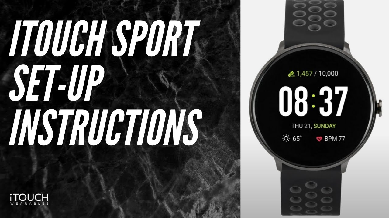 Itouch Sport Smarch Set Up