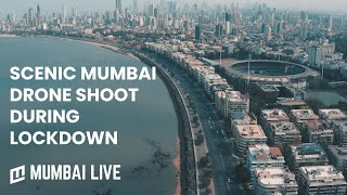 Scenic Drone Shoot of Mumbai during Coronavirus Lockdown