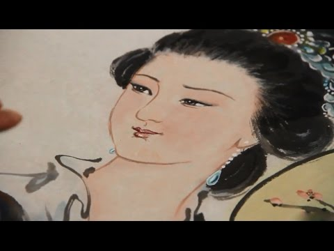 Traditional Chinese Figure Painting - Girl Paintings