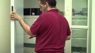 How To Install A Lock On A Solid  Wooden Door