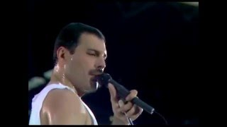 Queen - Who wants to live forever & I want to break free (Live at Wembley)