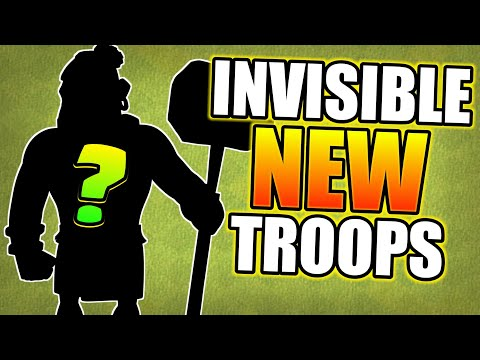 New Invisible Troops Glitch In Clash Of Clans 2018
