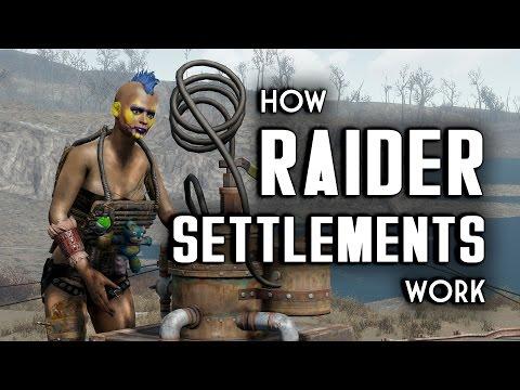 How Raider Settlements Work - Raider Gang Outpost Tutorial
